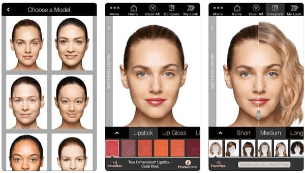 Virtuaali makeover