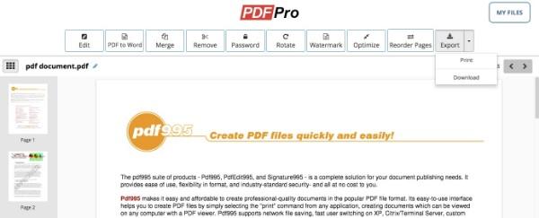 Muokkaa PDF-tiedostoa PDFPro-ohjelmalla