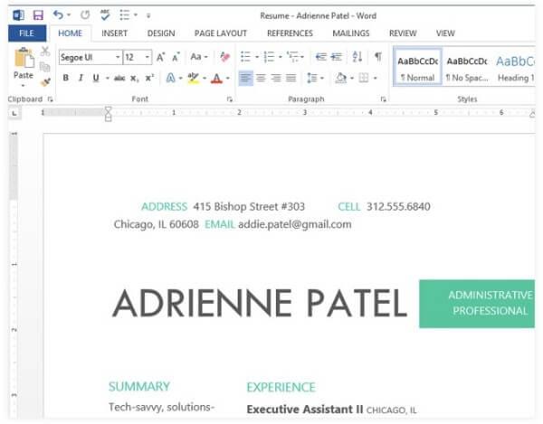 Muokkaa PDF-tiedostoa Microsoft Wordin avulla