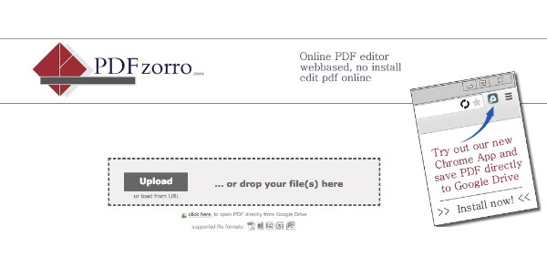 PDF-tiedoston muokkaaminen PDF Zorron avulla