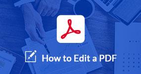 Muokkaa PDF-tiedostoa