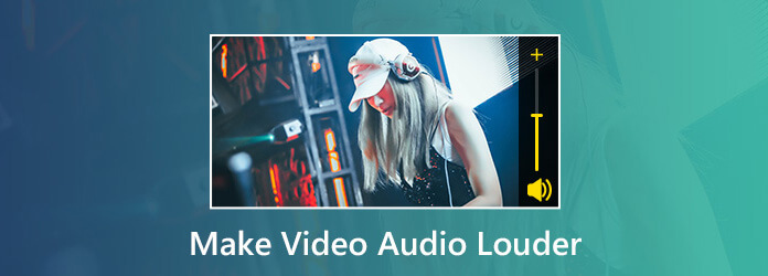 Lisää videoiden äänenvoimakkuutta