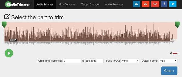 Audio Trimmer