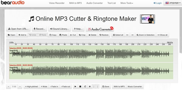 Bear Audio -työkalu