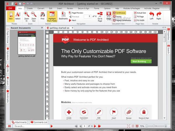 PDF-arkkitehti Professional