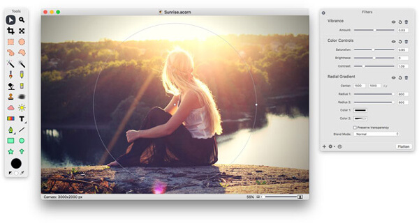 Acorn-kuvankäsittelyohjelma