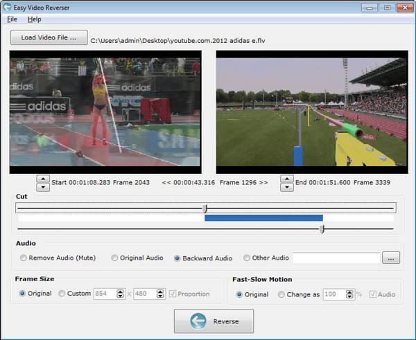 Easy Video Reverser