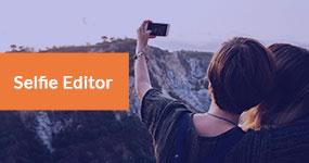 Selfie-editori
