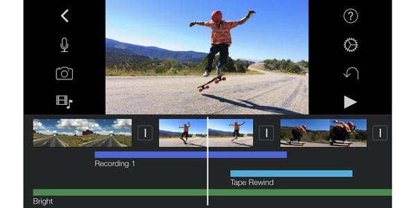 iMovie iOS: lle