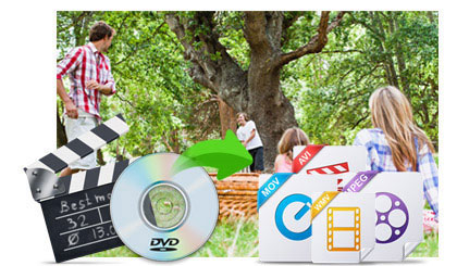 Rip DVD and Convert video to audio or HD videos