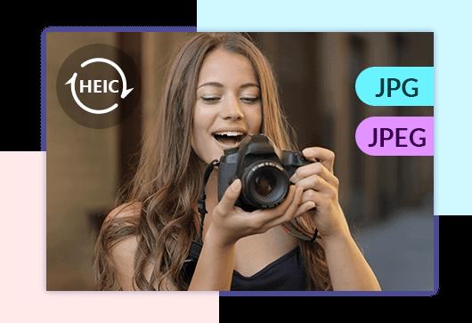 Muunna HEIC JPG JPEG -muodoksi