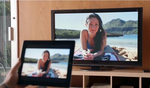 Nauti iPad-videosta HDTV: ssä