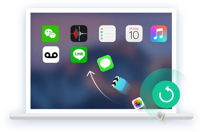 Varmuuskopioi iOS -tiedot tietokoneeseen