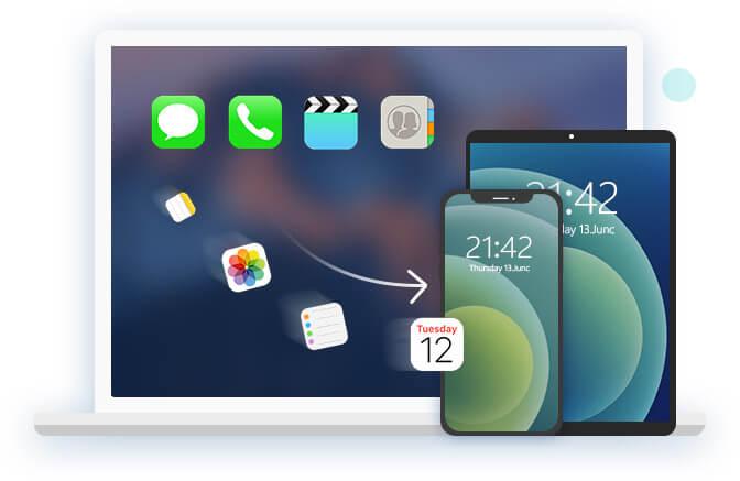 Palauta iOS-varmuuskopio