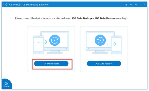 Valitse iOS Data Backup