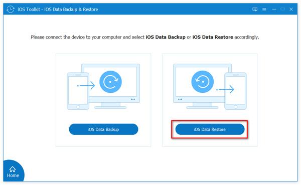 Valitse iOS Data Restore
