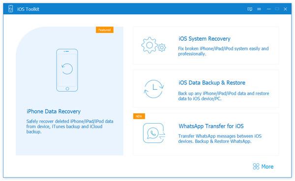 Valitse iOS System Recovery