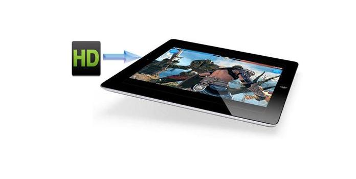 HD-video iPadiin