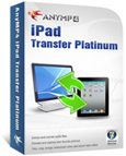 AnyMP4 iPad Transfer Platinum boxshot