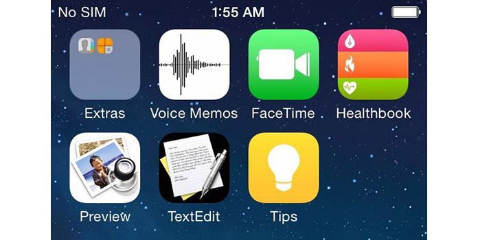 iOS 8 iPhonessa 6