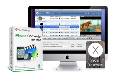 AnyMP4 iPhone Converter for Mac