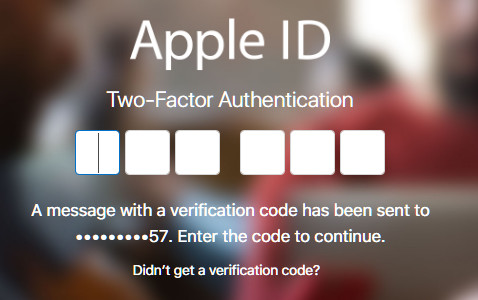 sign in your Apple ID