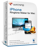 AnyMP4 iPhone Ringtone Maker for Mac boxshot