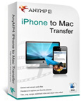 AnyMP4 iPhone to Mac Transfer boxshot