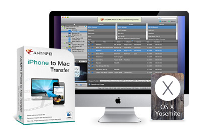 AnyMP4 iPhone to Mac Transfer