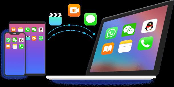 Siirrä iOS -tiedot Maciin