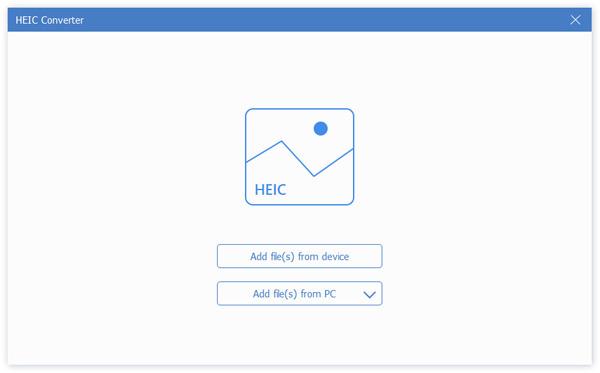 Lisää HEIC-tiedosto