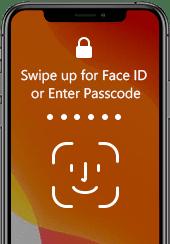 Face Touch ID valittu