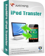 AnyMP4 iPod Transfer boxshot