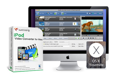 AnyMP4 iPod Video Converter for Mac