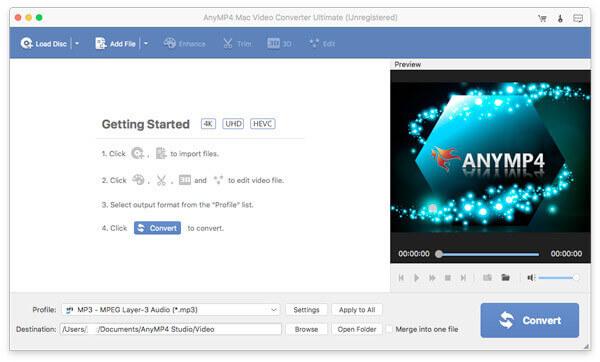 Mac Video Converter -liitäntä