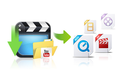 Convert downloaded videos