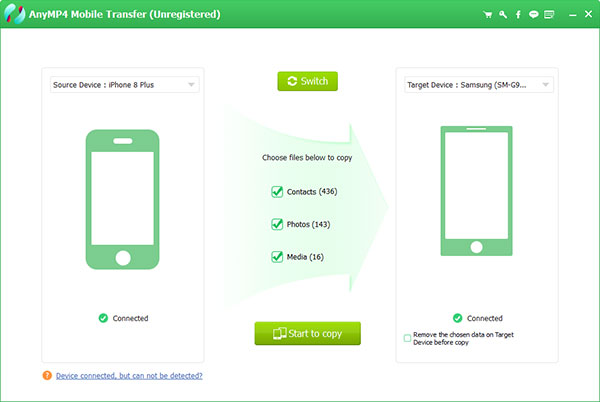 Transfer iPhone to Android