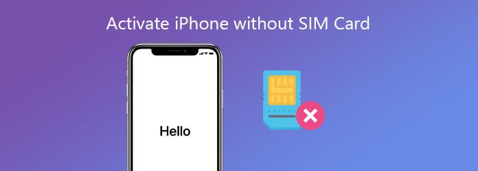 Aktivoi iPhone ilman SIM-korttia