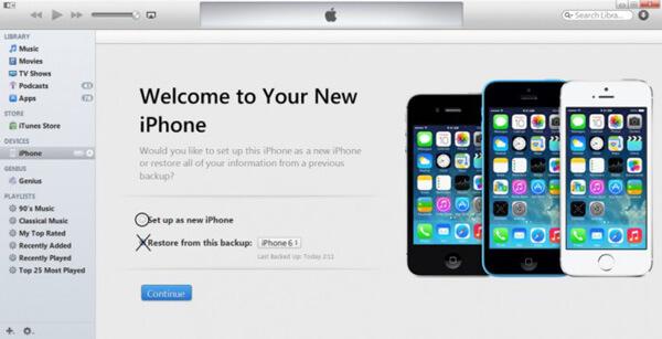 Asettaa uudeksi iPhoneksi