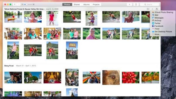 Siirrä iPhone-kuvat Maciin