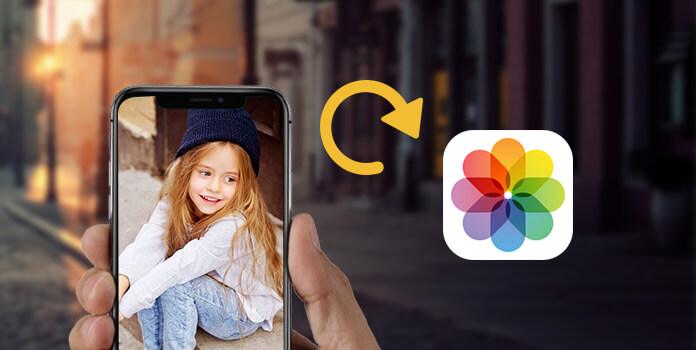 Varmuuskopioi iPhone-kuvat