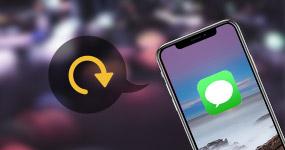 Varmuuskopioi tekstiviestejä iPhonessa
