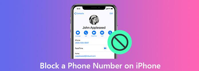 Estä puhelinnumero iPhonessa