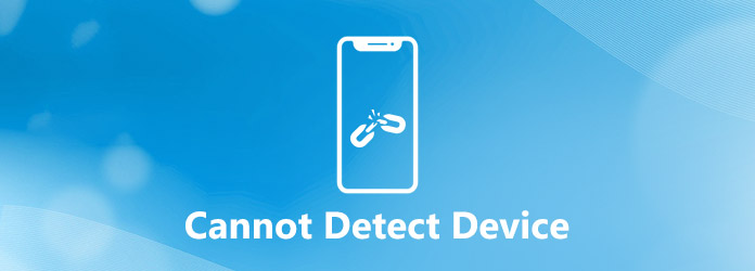 Cannot detect device