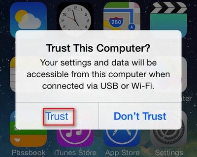 Luotta tietokone iPhoneen