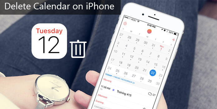 Poista kalenteri iPhonessa