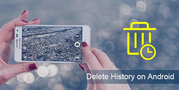 Poista selaimen historia Androidissa