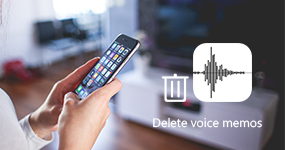 Delete Voice Memos on iPhone