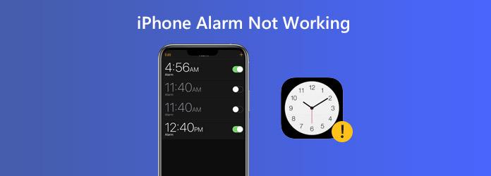 iPhone-hälytys ei toimi