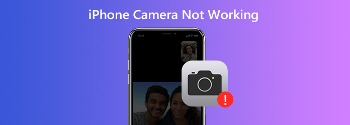 iPhone-kamera ei toimi